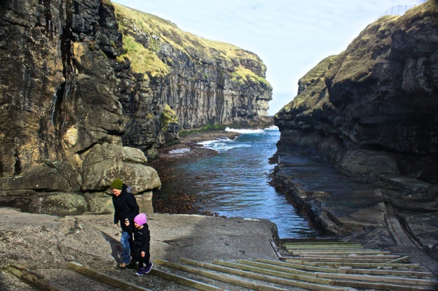 """Gjógv"" is the name for this village and the Faroese word for Gorge. Think it's pronounced Jogv or Gyoegv? Think again. It's more like Jeggv!"