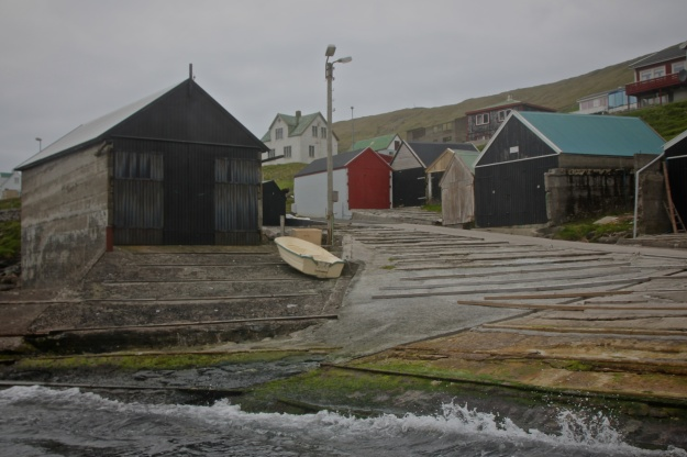 Sandvík, the northernmost village on Suðuroy and the spot where saga hero Sigmundur washed up from the sea to meet his death.