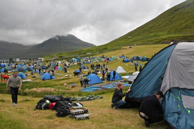 G! Tent Village in Norðragøta