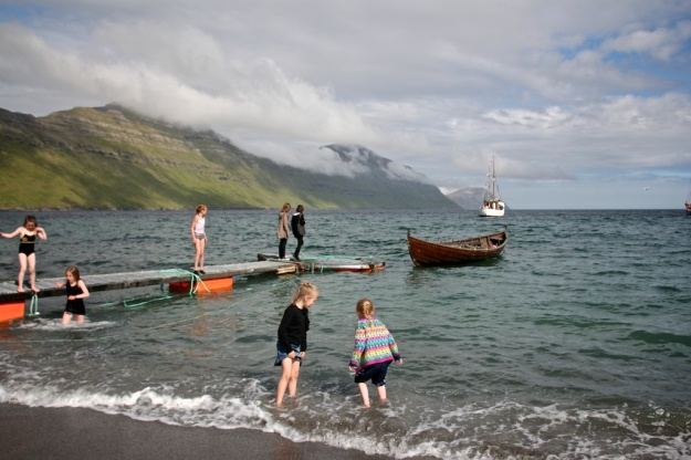 "The Faroese version of a ""Beach Day"" at the G! Festival -- not exactly for the Miami crowd!"