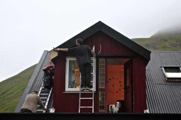 House Painting in the Faroes